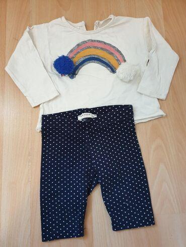 Zara bluza i brezze donji deo, vel 80