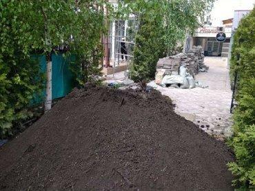 Чернозем чернозем чернозем горный чистый рыхлый без мусора для газона