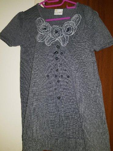 туника трикотажная с длинным рукавом в Кыргызстан: Тёплая платье-туника с коротким рукавом !На девочку или девушку ростом