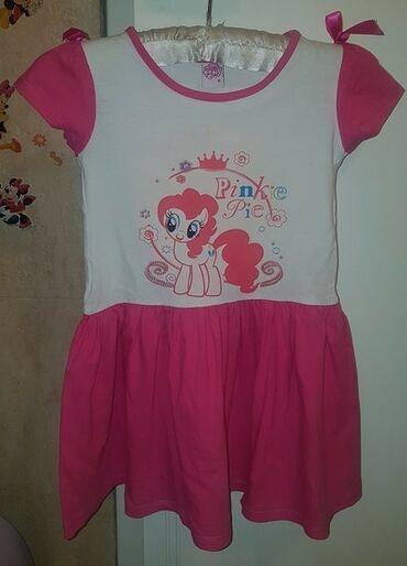 My LITTLE PONY - moj mali poni haljina, preslatka. Broj 8. Roze