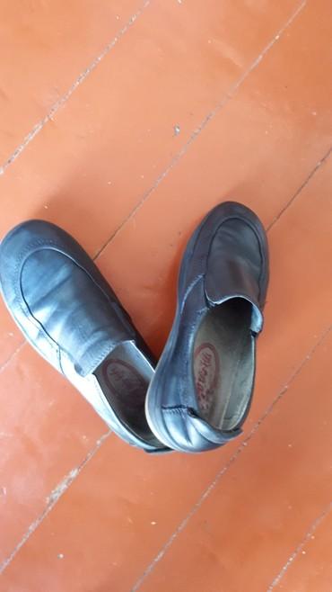 черный замшевая туфли в Кыргызстан: Туфли для мальчика, черный размер 32, под ecce kids,б/у за 200 сом
