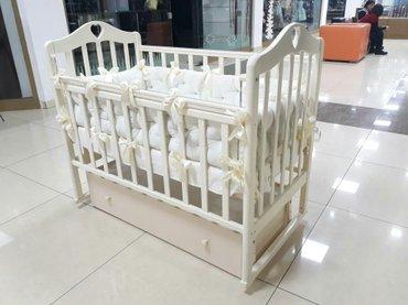 Кроватка каралина. доставка по городу в Бишкек