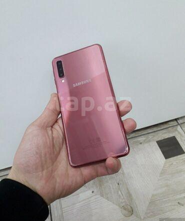 sumqayıt ev alqı satqısı 2018 в Азербайджан: Б/у Samsung A7 64 ГБ Розовый
