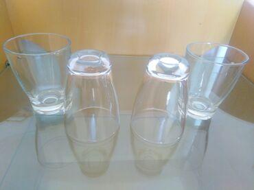 Čaše za žestinu uvoz Germany set od 4 interesantnih novih,deblje