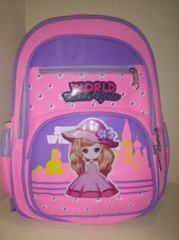 бутылочка в Кыргызстан: Новый школьный рюкзак для девочек.С этикеткой!!!новый школьный