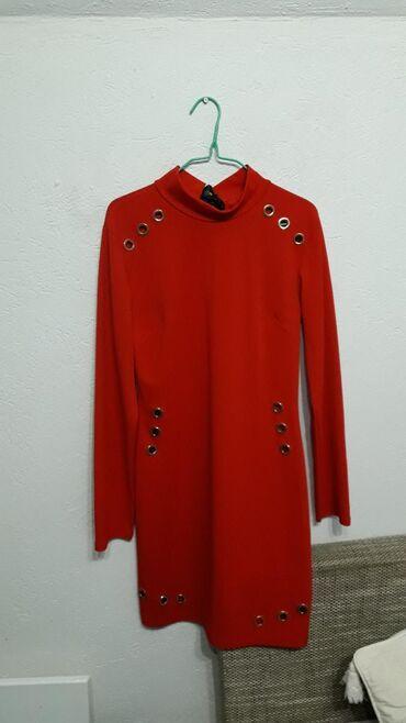 Burberry kupaci - Vrnjacka Banja: Nova crvena haljina, univerzalna veličina, ima zanimljive detalje na
