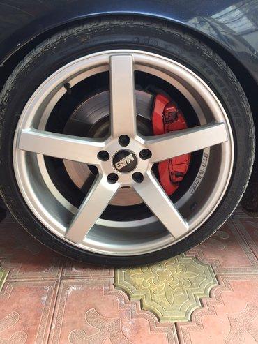 Audi s4 42 tiptronic - Azərbaycan: Audi r20 str sport disklər çatsız svarkasız top kimi disklərdi