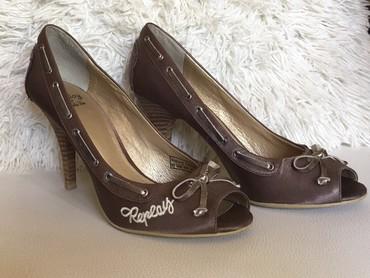 Carape sa prstima - Srbija: Ženske cipele na štiklu sa otvorenim prstima, broj 37