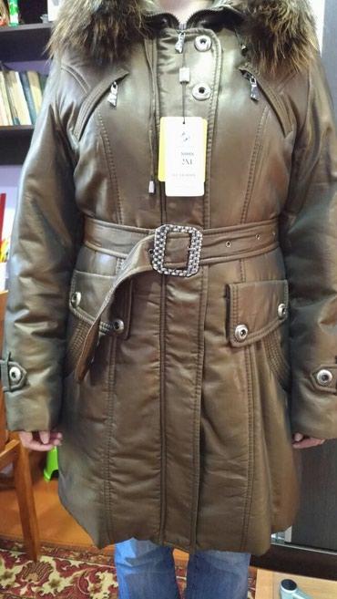 женскую куртку новую в Кыргызстан: Продам новую женскую зимнюю куртку. Размер и прочая информация указаны