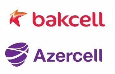 Azercell Bakcell Paket nömrə. Son qiyməti 130AZN. Təzə nömrədir. Qiymə