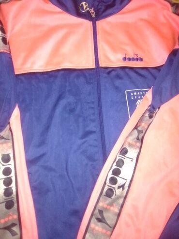 Προσωπικά αντικείμενα - Ελλαδα: Γυναικεία αθλητική φόρμα (μόνο το μπουφάν) diadora ( ροζ- μπλε)
