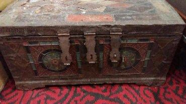 стенки для зала в Азербайджан: Продаётся мтаринный сундук.возраст более 100 лет.Размеры: дл
