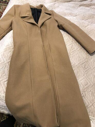 Пальто приталенное в абсолютно новом состоянии. Материал хороший