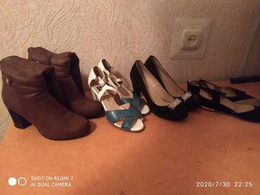Женская обувь в Ош: Сатылат арзан баада бир эки жолу кийилген Жалал абад баары 2000с