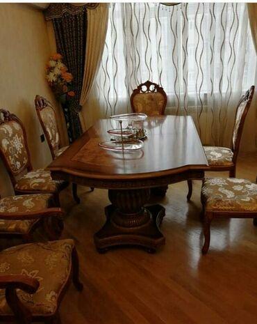 Endirim olundu‼️Malayziya stol stul desti‼️ masa(acilir) ve sekkiz