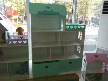 Домик для куклы с ящиками для игрушек в Бишкек