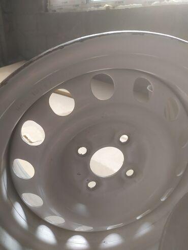 r14 диски 4 в Кыргызстан: Продаю диски развары разболтовка 4 на 100 размер R 14 торг возможен