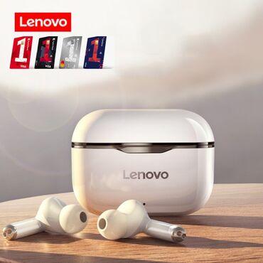 ✅Orijinal Lenovo Livepods BT Qulaqcıq TWS LP1 Qulaqlıq Mikrofonlu