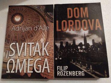 Knjige, kao nove, jednom procitane, prodajem