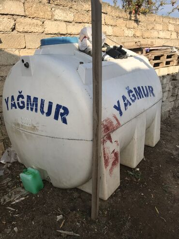 su baki - Azərbaycan: 3 tonlug su baki