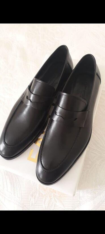 Мужская обувь - Азербайджан: Yeni təmiz dəri ayaqqabı.Hədiyyə kimi sifariş edilib.Razmer böyük
