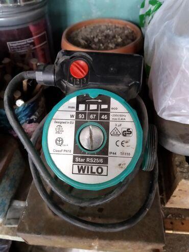 насос для отопления в Кыргызстан: Насос водяной для отопления. 2 и 3 скорость крутит, а первое положение
