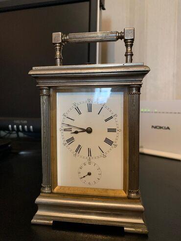 Антикварные часы - Азербайджан: Часы каретные антикварные