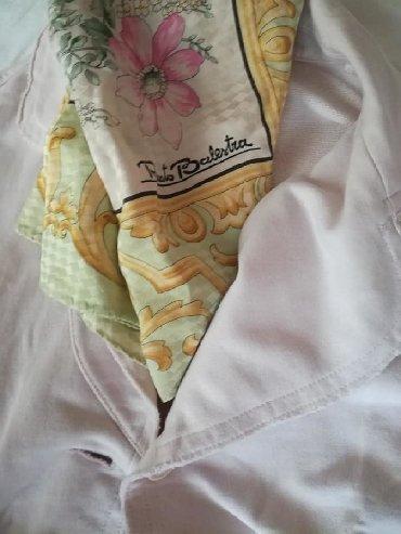 ARMANI EXCHANGE M/L BLEJZER PAMUK Bebi roze pamučni blejzer/jakna. Ust
