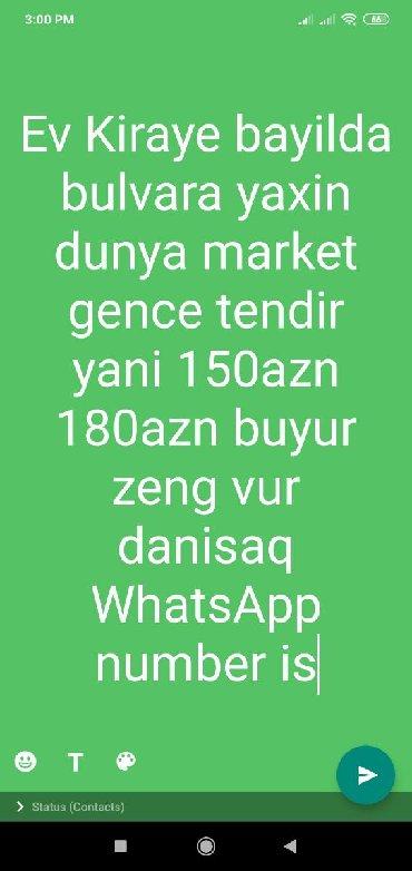 - Azərbaycan: Ev Kiraye
