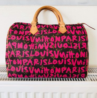 Αυθεντική Louis Vuitton Graffiti monogram speedy 30 limited σε Volos