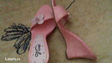 Prodajem papuče br 36,visina štikle 8cm. Cena 700 din plus poštarina - Belgrade