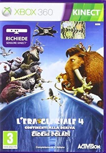 """xbox 360 аккумулятор в Азербайджан: Ice Age Village 4. Satilir təzə """"Xbox 360"""" Kinekt oyun diski.Təzədir.A"""