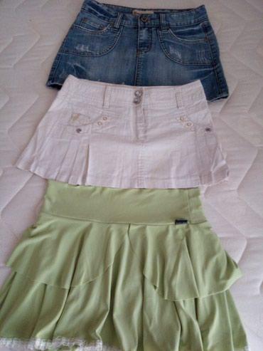 Tri jako lepe mini suknjice za - Loznica