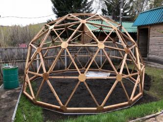 дачи лупарево в Кыргызстан: Предлагаем Гео Купол для постройки Дома, Дачи, Коттеджа, Теплицы,- по