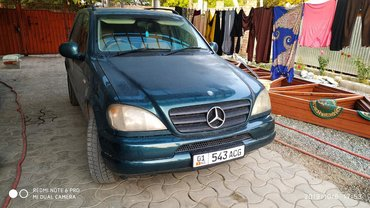 Mercedes-Benz в Кыргызстан: Mercedes-Benz ML 320 3.2 л. 2000 | 170000 км