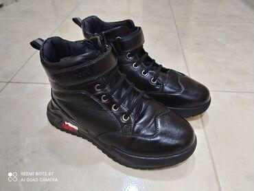 детский ортопед бишкек в Кыргызстан: Продаю б/у зимние ботинки на мальчича, размер - 37, сост отличное