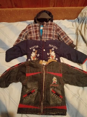 Dečije jakne i kaputi | Kikinda: 3 jakne i kapica za decaka od 2 do 3 god. Sve jakne su tople i