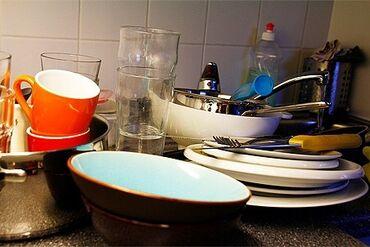 Посудомойки. 1-2 года опыта. Полный рабочий день. Ак-Босого ж/м