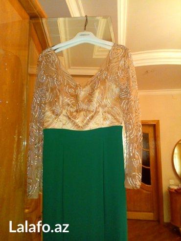 Zərdab şəhərində Вечернее платье одевалась один раз размер 40-42