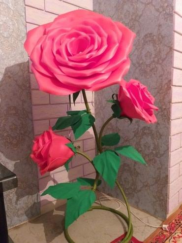 Букет из роз. Тошер- светильник. Порадует прекрасную половину. в Лебединовка