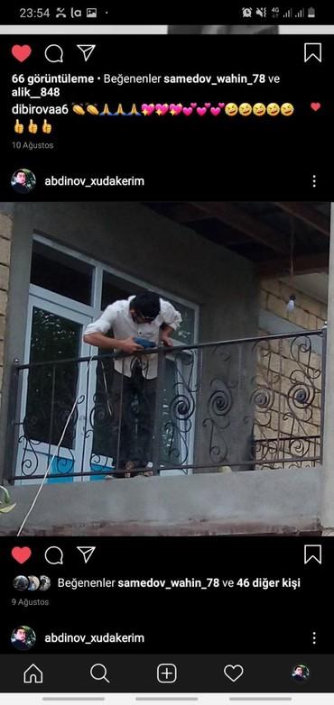 Работа в Масаллы: Belə balkon raşotkalarinin yiğilmasini bacarıram