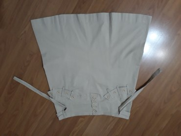 Pamucna suknja,3 % likre,duz.55 cm....dimenzije uslikane - Smederevo