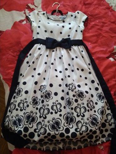Платье на девочку 8-10 лет...надевали в Бишкек