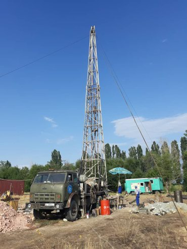 бурим скважины бишкек в Кыргызстан: Бурение скважин на воду. Ремонт старых скважин, монтаж и демонтаж
