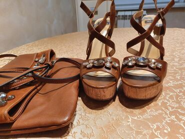 Prodajem Batine sandale sa ortopetom plus torba identicna