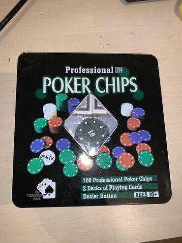 Настольные игры - Бишкек: Новый набор для игры в покер