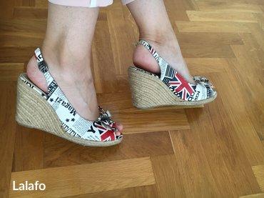 Nove sandalice, jednom obuvene. Broj 40. - Novi Pazar