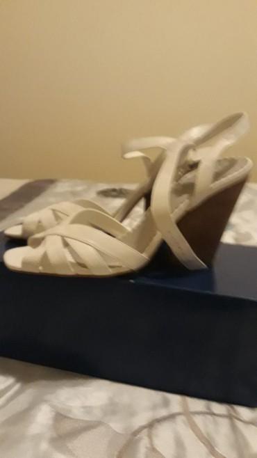 Ostalo | Varvarin: Nove kozne sandale velicina 40