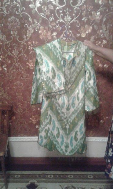 Платье мусульманское на салам вышитое бисером .Размер 46р.Цена 1500с в Бишкек