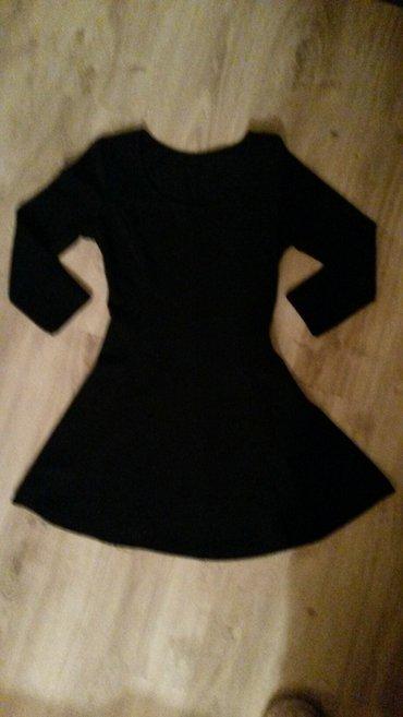 Crna mini haljina - Sombor